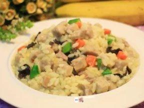 奶油芋頭燉飯(素食),簡單做料理