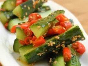 雙椒脆黃瓜條