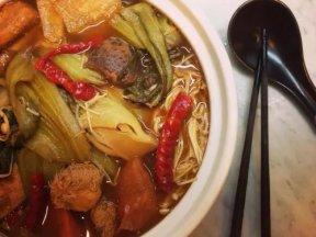 素食料理(酸菜)皇帝菜