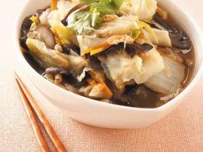 家常美味的白菜鹵做法。