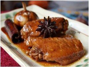 媽媽私房菜****滷雞翅****