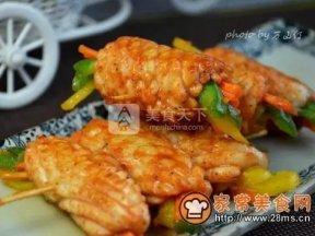 麻辣魷魚卷