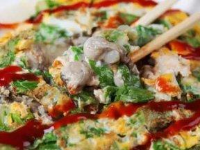 台灣小吃:蚵仔煎