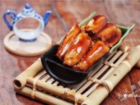 下飯素菜照燒杏鮑菇