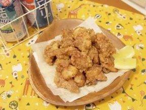 日式炸雞塊 - 滿滿肉汁好誘人!!