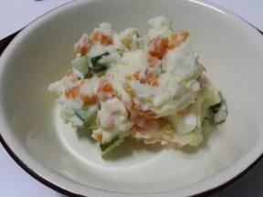 簡易版馬鈴薯蛋沙拉【滿分早點X桂冠沙拉】