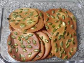 南瓜子瓦片餅乾