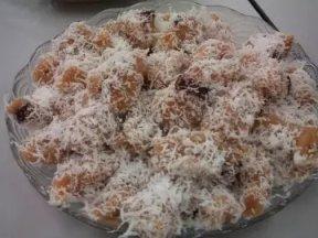 椰絲蒸年糕