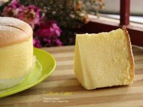 棉花蛋糕Cotton Cake的詳細做法!像棉花一樣柔軟 !