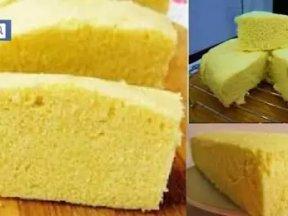最成功的《蒸蛋糕》做法,只需四種材料!成功率100%!