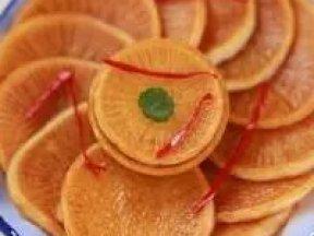 無油炸的胡蘿蔔丸子,外焦里嫩,超好吃