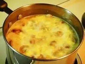 玉米土豆蘑菇素湯